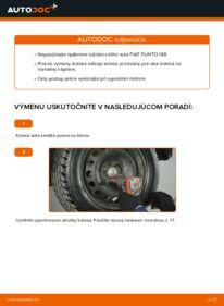 Ako vykonať výmenu: Lozisko kolesa na 1.2 60 Fiat Punto 188