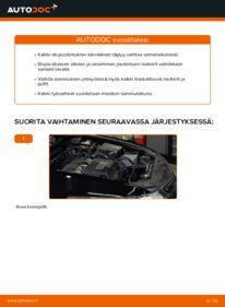 Kuinka vaihtaa Jousijalan Tukilaakeri 2.0 i (CU1) Honda Accord VIII CU -autoon