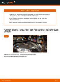 Wie der Wechsel durchführt wird: Bremsbeläge Golf 5 1.9 TDI 1.6 2.0 GTI tauschen