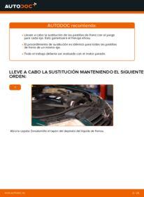 ¿Cómo realizar un reemplazo de Pastillas De Freno en 1.9 TDI ? Eche un vistazo a nuestra guía detallada y sepa cómo hacerlo.