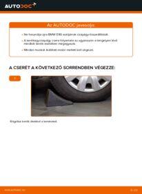 Hogyan végezze a cserét: 320d 2.0 BMW E90 Kerékcsapágy
