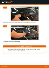 Kako izvesti menjavo: Metlica brisalnika stekel na 1.4 D-4D (NDE150_) Toyota Auris e15