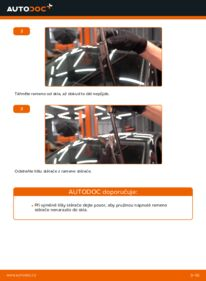 Jak provést výměnu: List stěrače na 1.9 TDI Golf 5