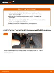 Kuinka vaihtaa Raitisilmasuodatin 2.0 D Volvo v50 mw -autoon