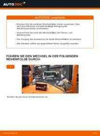 Wie der Wechsel durchführt wird: Scheibenwischer Toyota Aygo ab1 1 1.4 HDi 1.0 GPL (KGB10_) tauschen