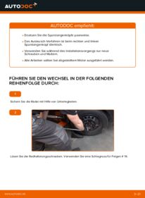 Wie der Wechsel durchführt wird: Spurstangenkopf Toyota Aygo ab1 1 1.4 HDi 1.0 GPL (KGB10_) tauschen