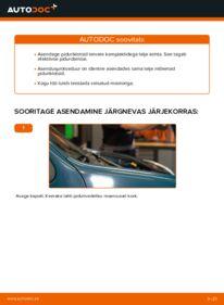 Kuidas välja vahetamist läbi viia: D 65 1.9 Renault Kangoo kc01 Piduriklotsid