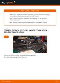 Wie der Wechsel durchführt wird: Bremsbeläge Passat 3B6 1.9 TDI 1.8 T 20V 1.9 TDI 4motion tauschen