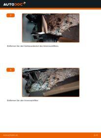 Wie der Wechsel durchführt wird: Innenraumfilter Polo 9n 1.4 16V 1.2 12V 1.4 TDI tauschen