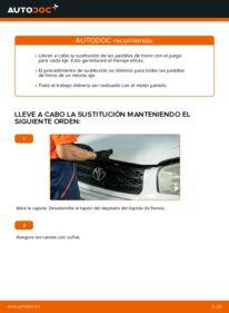 ¿Cómo realizar un reemplazo de Pastillas De Freno en 2.0 D 4WD (CLA20_, CLA21_) ? Eche un vistazo a nuestra guía detallada y sepa cómo hacerlo.