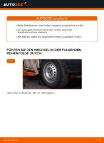 Wie der Wechsel durchführt wird: Stabigummis VW TRANSPORTER IV Bus (70XB, 70XC, 7DB, 7DW) 2.5 TDI 2.4 D 1.9 TD tauschen
