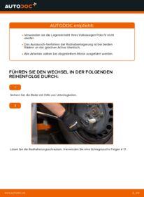 Wie der Wechsel durchführt wird: Radlager Polo 9n 1.4 16V 1.2 12V 1.4 TDI tauschen