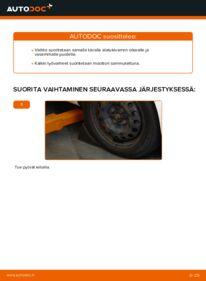 Kuinka vaihtaa Alatukivarsi 1.0 CITROËN C1 (PM_, PN_) -autoon
