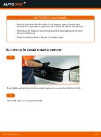 Cum să efectuați înlocuirea: Placute Frana la 2.0 D 4WD (CLA20_, CLA21_) Toyota Rav4 II