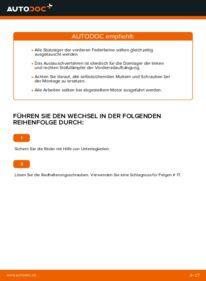 Wie der Wechsel durchführt wird: Domlager Opel Corsa C 1.2 (F08, F68) 1.0 (F08, F68) 1.3 CDTI (F08, F68) tauschen