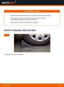 Kā veikt nomaiņu: 2.0 D 4WD (CLA20_, CLA21_) Toyota Rav4 II Amortizators