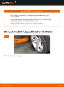 Como realizar a substituição de Rolamento da Roda no 2.0 16V Ford Mondeo bwy