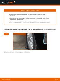 Vervangen: Wiellager 1.9 JTDM 16V Alfa Romeo 159 Sportwagon