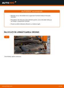 Cum să efectuați înlocuirea: Arc spirala la 1.2 (F08, F68) Opel Corsa C