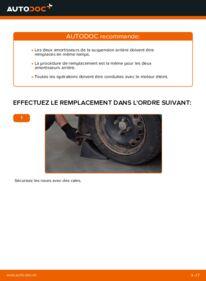 Comment effectuer un remplacement de Amortisseurs sur D 65 1.9 Renault Kangoo kc01