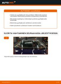 Kuinka vaihtaa Pyyhkijänsulat 2.0 TDI Passat 3c -autoon
