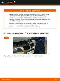 Hogyan végezze a cserét: 320d 2.0 BMW E90 Féktárcsa