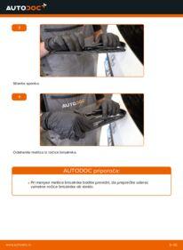 Kako izvesti menjavo: Metlica brisalnika stekel na B 180 CDI 2.0 (245.207) Mercedes W245