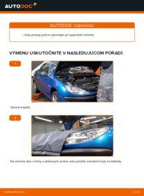 Ako vykonať výmenu: Klinový rebrovaný remen na 1.6 16V Peugeot 206 cc 2d