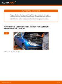 Wie der Wechsel durchführt wird: Luftfilter Peugeot 206 cc 2d 1.6 16V 2.0 S16 1.6 HDi 110 tauschen