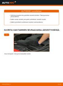 Kuinka vaihtaa Jarrupalat 2.0 16V Ford Mondeo bwy -autoon
