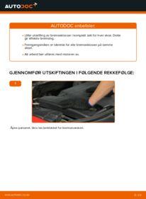 Slik bytter du Bremseklosser på 2.0 16V Ford Mondeo bwy
