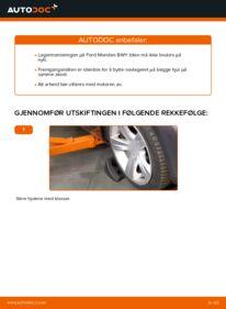 Slik bytter du Hjullager på 2.0 16V Ford Mondeo bwy
