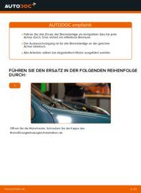 Wie der Wechsel durchführt wird: Bremsbeläge Renault Kangoo kc01 D 65 1.9 1.4 1.5 dCi tauschen