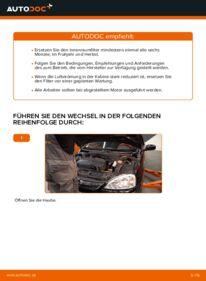 Wie der Wechsel durchführt wird: Innenraumfilter Opel Corsa C 1.2 (F08, F68) 1.0 (F08, F68) 1.3 CDTI (F08, F68) tauschen