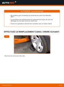 Comment effectuer un remplacement de Roulement De Roues sur 2.0 16V Ford Mondeo bwy