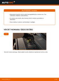 Kā veikt nomaiņu: 3.0 TDI quattro Audi A6 4f2 Bremžu Kluči