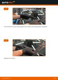 Comment effectuer un remplacement de Essuie-Glaces sur 1.3 Hybrid (ZE28, ZE2) Honda Insight ZE2/ZE3