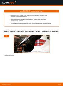 Comment effectuer un remplacement de Amortisseurs sur B 180 CDI 2.0 (245.207) Mercedes W245