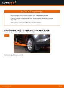 Jak provést výměnu: Lozisko kola na 1.9 D Multijet FIAT BRAVO II (198)