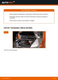 Kā veikt nomaiņu: 3.0 TDI quattro Audi A6 4f2 Amortizators
