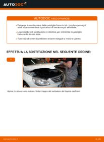 Come effettuare una sostituzione di Pastiglie Freno su B 180 CDI 2.0 (245.207) Mercedes W245