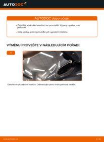 Jak provést výměnu: Palivový filtr na 1.6 RENAULT MEGANE II Saloon (LM0/1_)
