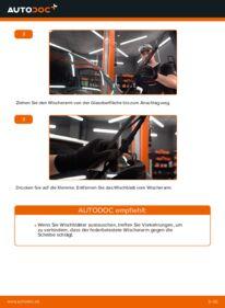 Wie der Wechsel durchführt wird: Scheibenwischer Fiat Doblo Cargo 1.9 JTD 1.3 D Multijet 1.9 D tauschen