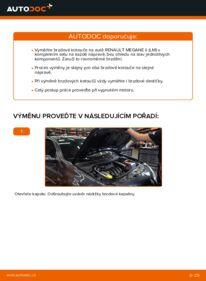 Jak provést výměnu: Brzdovy kotouc na 1.6 RENAULT MEGANE II Saloon (LM0/1_)