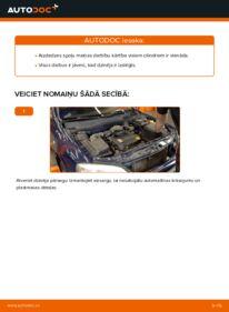 Kā veikt nomaiņu: 1.6 16V (F08, F48) Opel Astra g f48 Aizdedzes spole