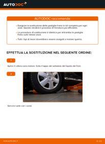 Come effettuare una sostituzione di Pastiglie Freno su 1 Toyota Aygo ab1