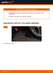 Så byter du Länkarm på E 300 3.0 Turbo Diesel (210.025) Mercedes W210