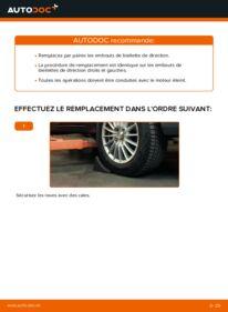Comment effectuer un remplacement de Rotule De Direction sur 1.4 TDCi Ford Fiesta V jh jd