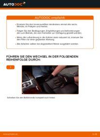 Wie der Wechsel durchführt wird: Innenraumfilter Audi A6 4f2 3.0 TDI quattro 2.0 TDI 2.4 tauschen