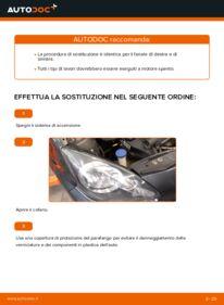 Come effettuare una sostituzione di Fari Anteriori su 1 Toyota Aygo ab1